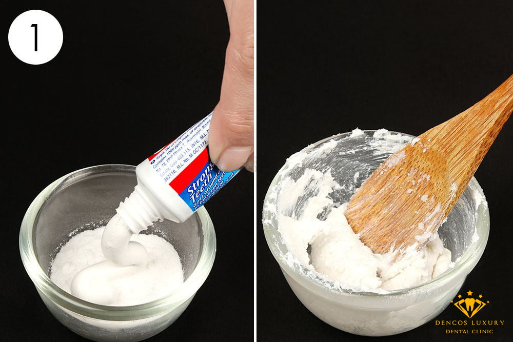 tẩy trắng răng bằng baking soda