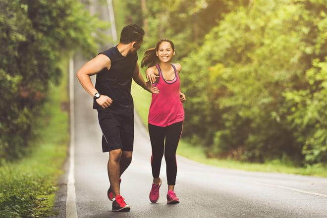 tập thể dục là cách trị hôi miệng hiệu quả