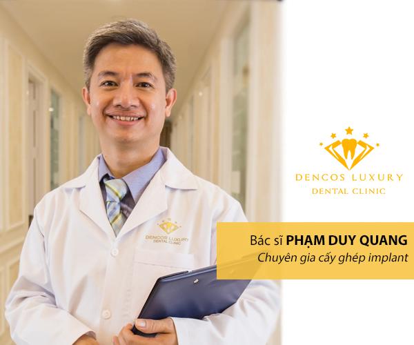 Bác sĩ Phạm Duy Quang