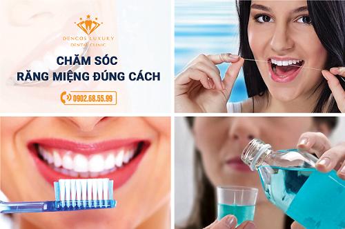 Hàn răng có phải kiêng gì không