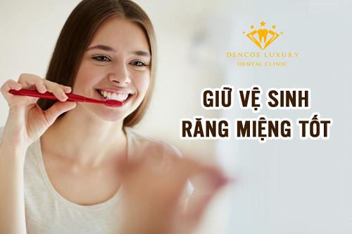 Cách chăm sóc răng sứ titan giúp tăng tuổi thọ răng sứ