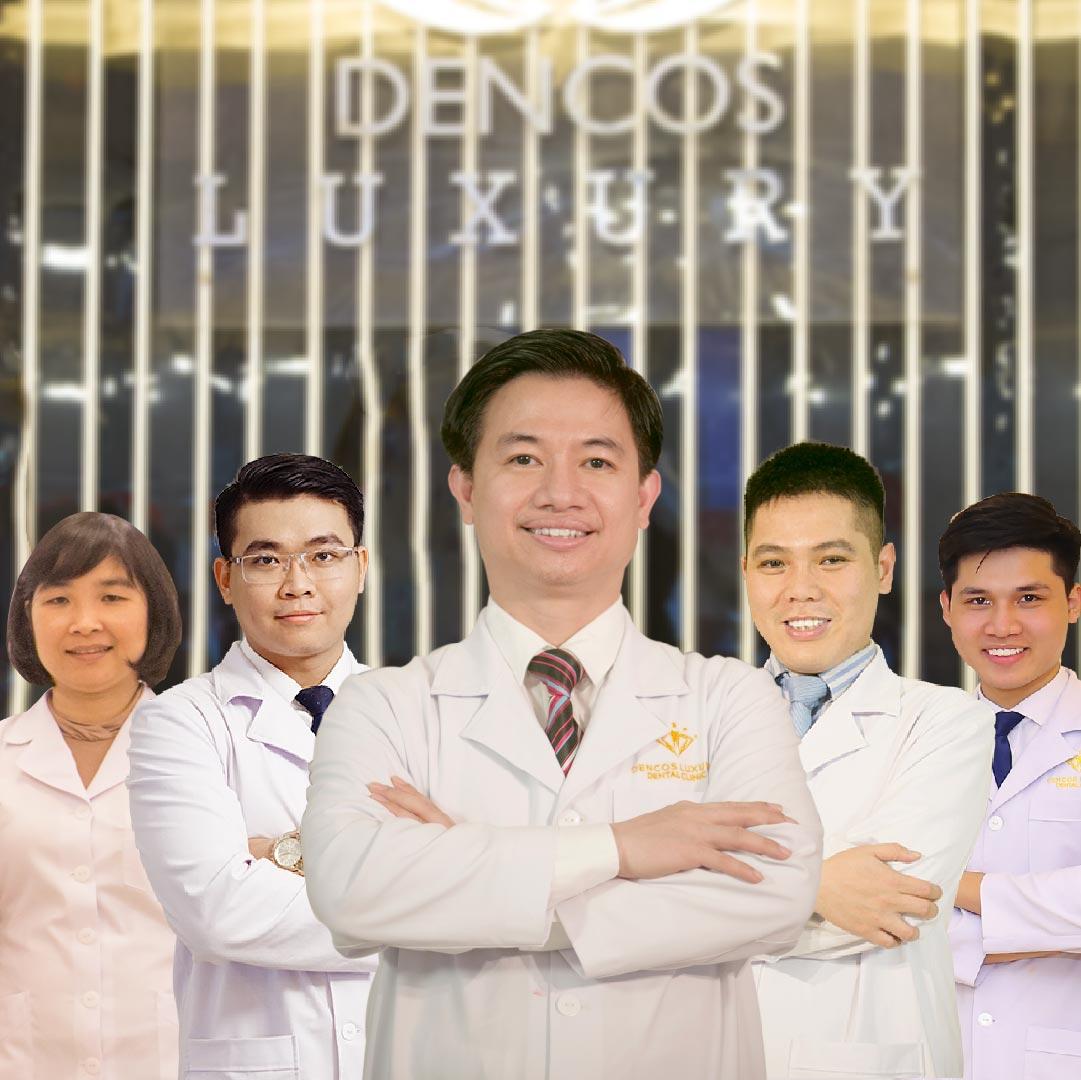 Đội ngũ Bác sĩ tại Nha khoa Quốc tế Dencos Luxury