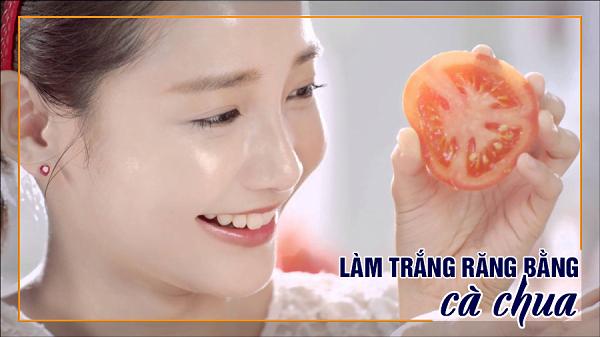 Làm gì để trắng răng - Sử dụng cà chua