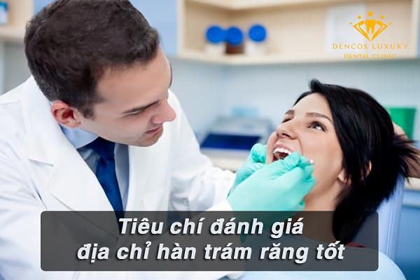 Trám răng ở đâu tốt?