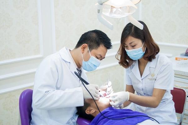 sâu răng 36